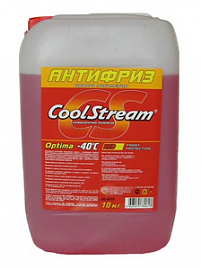 Антифриз CoolStream Optima Red красный 10л CS010703RD